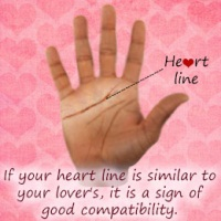 Palm Reading - Love Line